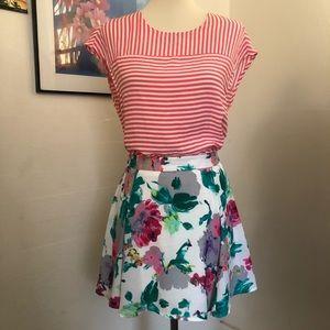 Lush | Floral Skirt